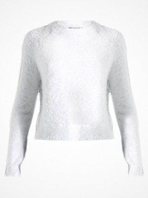 Even&Odd Stickad tröja offwhite