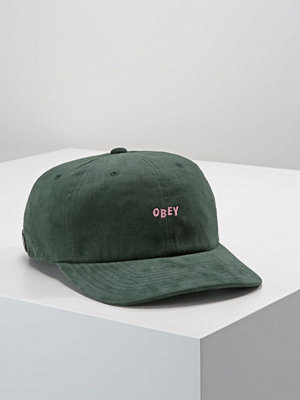 Kepsar - Obey Clothing CUTTY 6 PANEL SNAPBACK  Keps forrest