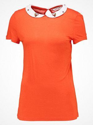 NAF NAF OJEWEL  Tshirt med tryck orange tonic