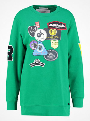 Replay SWEATSHIRT Sweatshirt light emerald green