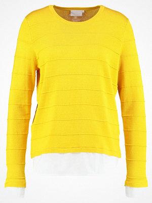 Kaffe NIKA  Stickad tröja solar yellow
