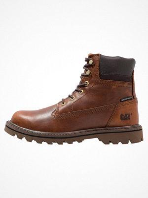 Boots & kängor - Caterpillar DEPLETE WP Snörstövletter brown