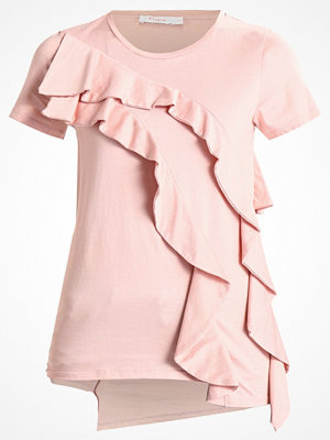Finery London CHILCOT RUFFLE Tshirt med tryck shell pink