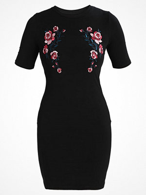 Even&Odd BODYCON  Jerseyklänning black
