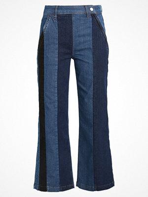 2nd Day FLIP STRIPE Jeans bootcut bright blue