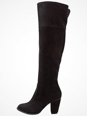 Vero Moda VMKIMMIE OVERKNEE BOOT Klassiska stövlar black