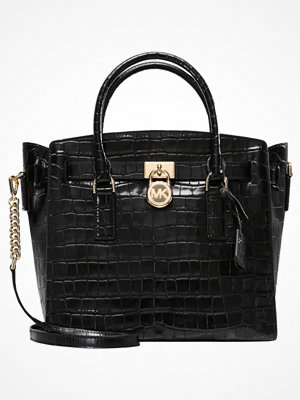 Handväskor - MICHAEL Michael Kors HAMILTON Handväska black