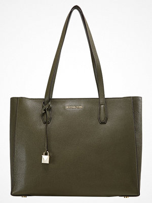 Handväskor - MICHAEL Michael Kors MERCER  Handväska olive