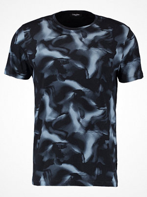 T-shirts - Calvin Klein JAHES REFINED Tshirt med tryck true navy