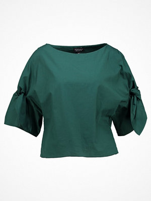 Topshop BOW SLEEVE Blus green