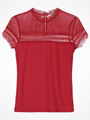 Morgan Tshirt med tryck red