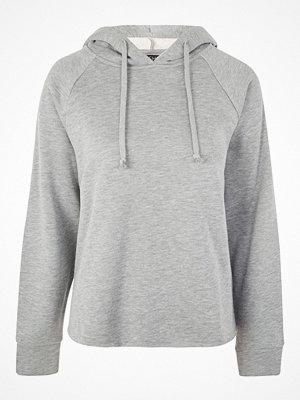 Street & luvtröjor - Topshop RAGLAN Luvtröja grey marl