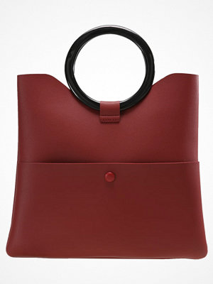 Topshop COOKIE O RING CLUTCH Handväska red