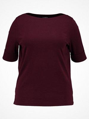 Lauren Ralph Lauren Woman JUDY Tshirt bas red sangria
