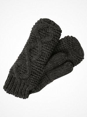 Handskar & vantar - Only ONLPEA MITTENS Tumvantar dark grey melange