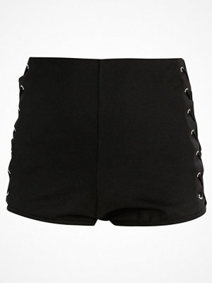 Shorts & kortbyxor - Topshop LACE SIDE KNICKER SH Shorts black
