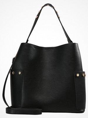 Handväskor - Even&Odd Handväska black, gold