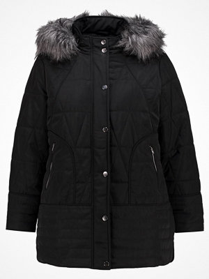 Evans BLACK PIPED HEM PADDED COAT Allvädersjacka black