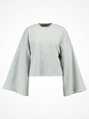 Even&Odd WIDE SLEEVE SWEATER Sweatshirt graumeliert