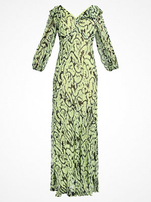 Finery London ASSAM MAXI BIAS CUT DRESS  Maxiklänning swirling ferns print (black and green)