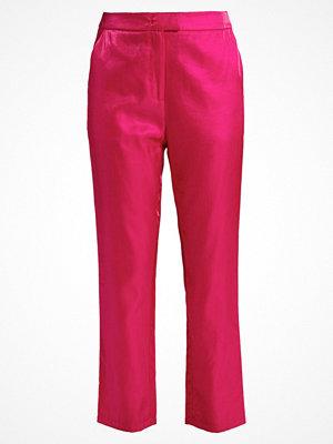 Fashion Union TEA BRIGHT Tygbyxor fuchsia röda