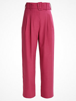 Finery London MANTON HIGH WAISTED  Tygbyxor rose pink rosa