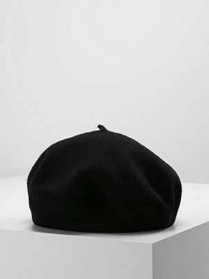 Mössor - Only ONLPURE BERET Mössa black