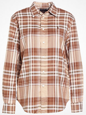 Polo Ralph Lauren BRUSHED PLAIDS Skjorta camel/cream