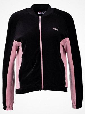 Fila Petite BODIL TRACK JACKET VELVET Sweatshirt black