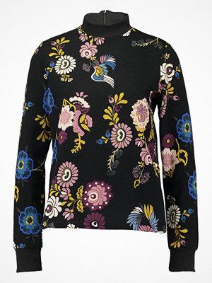 Vila VIBESTIA  Sweatshirt black vibestia print