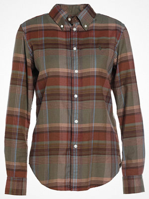 Polo Ralph Lauren BRUSHED PLAID CLASSIC FIT Skjorta rust/moss
