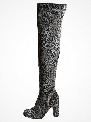 Stövlar & stövletter - Steve Madden OWNEEX Klassiska stövlar leopard grey velvet