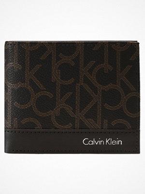 Plånböcker - Calvin Klein GREG MONO Plånbok brown