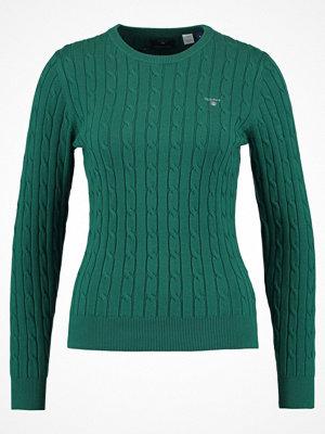 Gant Stickad tröja ivy green