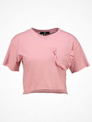 Missguided Petite Tshirt med tryck light pink