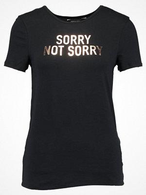 Dorothy Perkins NOT SORRY Tshirt med tryck black