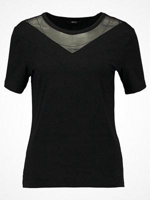 Only ONLSUZI Tshirt med tryck black