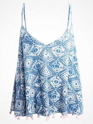 Dorothy Perkins TILE PRINT CAMISOLE Strandaccessoar  blue