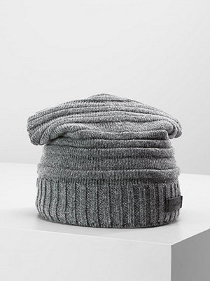 Calvin Klein BOMBED STRIPE HAT Mössa steel grey