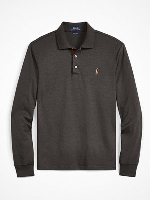 Polo Ralph Lauren PIMA CUSTOM SLIM FIT Piké bristol heather