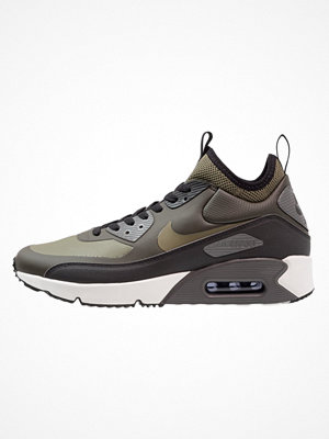 Sneakers & streetskor - Nike Sportswear AIR MAX 90 ULTRA MID WINTER Höga sneakers sequoia/medium olive/black/dark grey/summit white