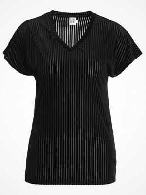 Saint Tropez PLISSE Tshirt med tryck black