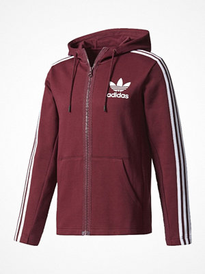 Adidas Originals CURATED FULLZIP Sweatshirt maroon