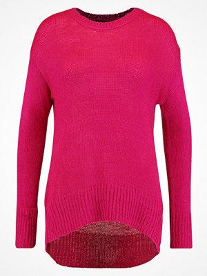 New Look LONGLINE Stickad tröja pink