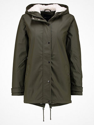 New Look BORG LINED ANORAK Parkas dark khaki