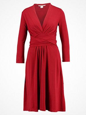 Anna Field Jerseyklänning red dahlia