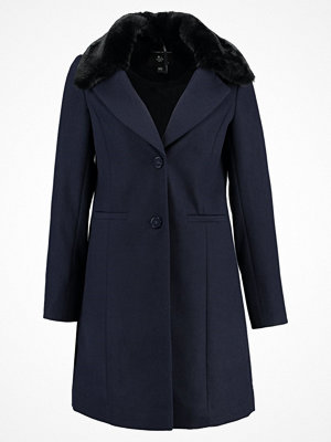 Dorothy Perkins FUR COLLAR CROMBIE Kappa / rock navy