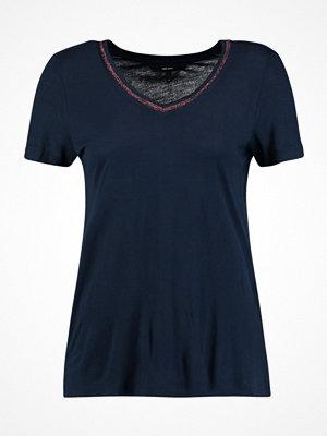 Vero Moda VMSPORTA GLITTER  Tshirt med tryck navy blazer