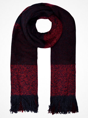 Only ONLPESA SCARF Halsduk port royale/night sky/rumba red