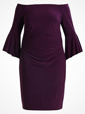 Lauren Ralph Lauren Woman Jerseyklänning raisin